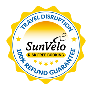 SunVelo Travel Disruption Money back guarantee small