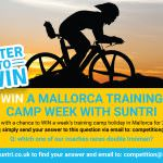 Win places at the SunTri triathlon training camp in Mallorca April 2016
